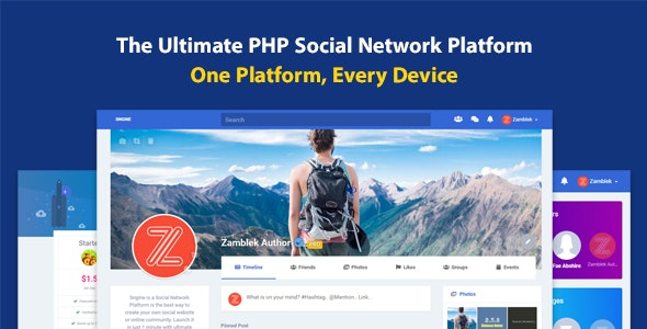 Sngine – The Ultimate PHP Social Network Platform